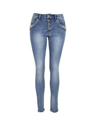 Baggy jeans pearls 1