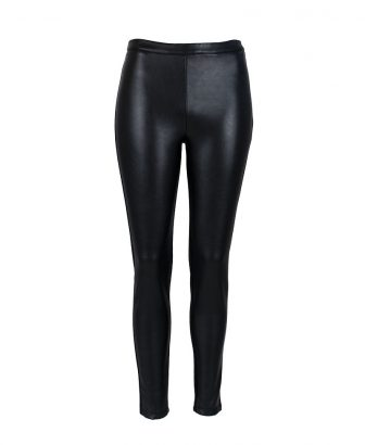 Half  'n half leather legging 1