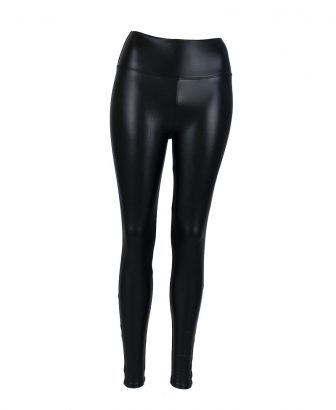 Faux leather legging 1
