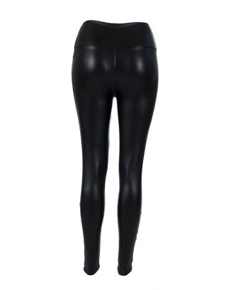 Faux leather legging 2