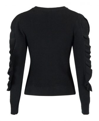 Pastel ruffle sleeve 7